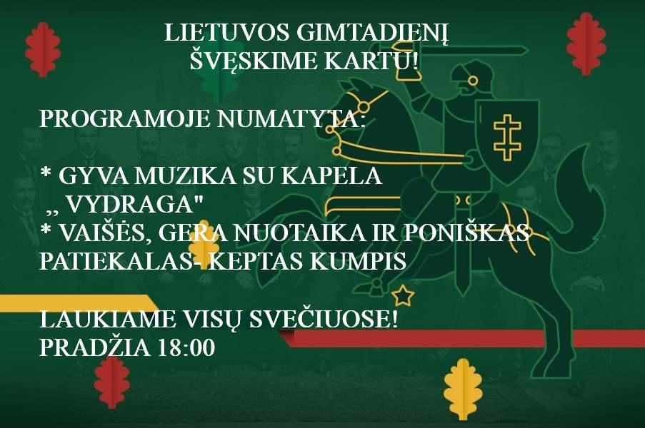 Snekutis 100 Lietuvai